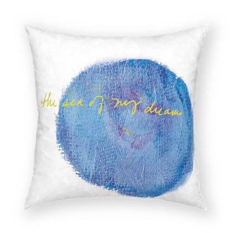 Sea of My Dream Pillow 18x18