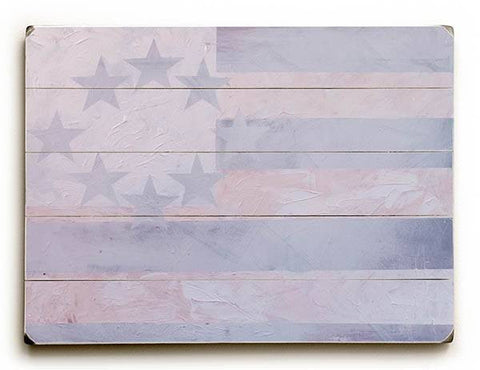 Blind America Wood Sign 25x34 (64cm x 87cm) Planked