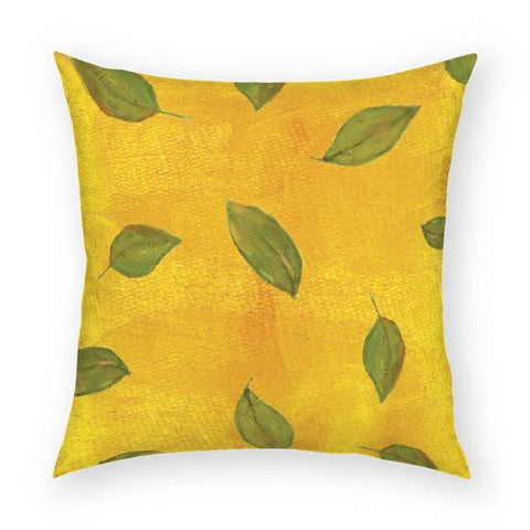Leaves Pillow 18x18