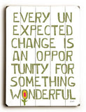 Something Wonderful Wood Sign 12x16 Planked