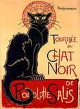 Tournee du Chat Noir Wood Sign 14x20 (36cm x 51cm) Planked