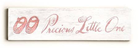 0002-9017-Precious Little One Wood Sign 6x22 (16cm x56cm) Solid