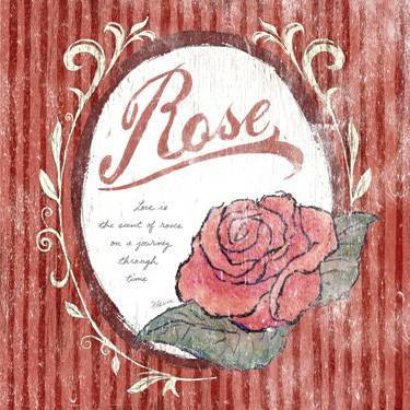 0002-8220-Rose Wood Sign 30x30 (77cm x 77cm) Planked