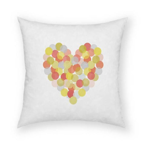 Spotted Love Pillow 18x18