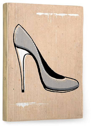 Stilletto Wood Sign 18x24 (46cm x 61cm) Planked