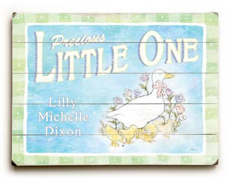 0003-1502-Ducklings Wood Sign 9x12 (23cm x 31cm) Solid