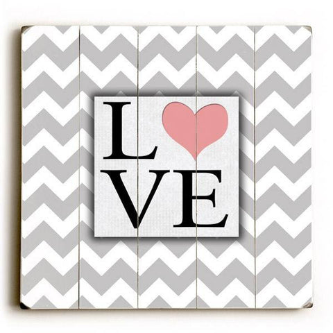Love Wood Sign 13x13 Planked