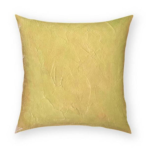 Pale Goldenrod Pillow Pillow 18x18