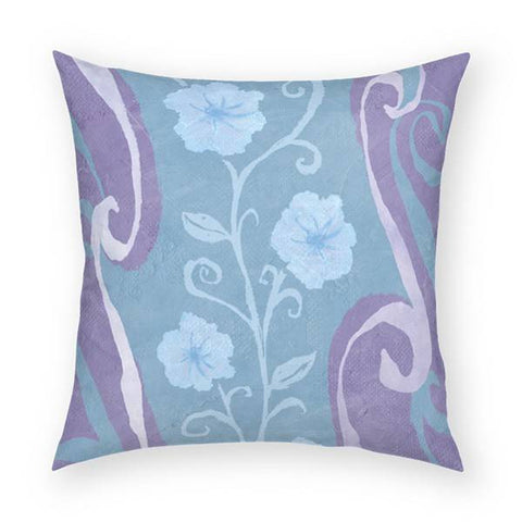 Flowers Pillow 18x18
