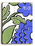 peace Wood Sign 25x34 (64cm x 87cm) Planked