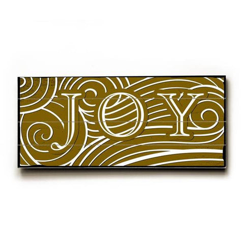 Joy Wood Sign 10x24 (26cm x61cm) Planked