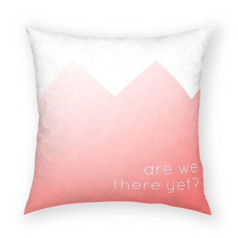 Are We There Yet Pillow 18x18