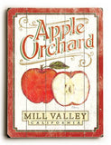 0003-1575-Orchard Wood Sign 14x20 (36cm x 51cm) Planked