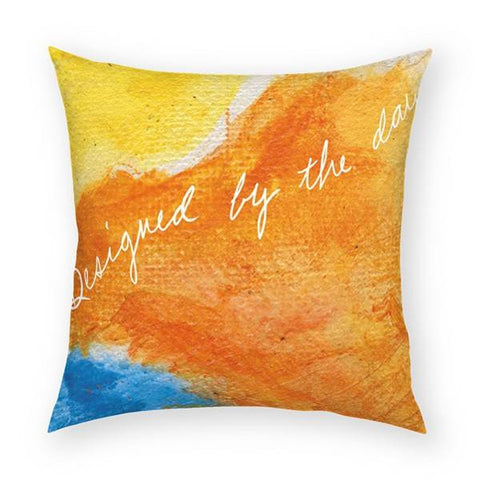 Designed by the Day Pillow 18x18