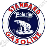 "Standard Polarine Motor Oil 12"" Sign"