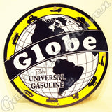 "Globe Gasoline 12"" Sign"