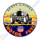 "Union Motor Fuel 12"" Sign"