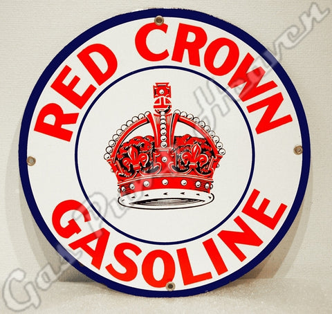 Red Crown Gasoline 12