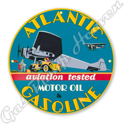 Atlantic Aviation Gasoline 12