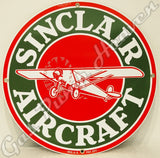 "Sinclair Aircraft 12"" Sign"