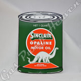 "Sinclair ""Oil Can"" Shaped Sign"