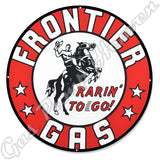 "Frontier 30"" Sign"