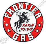 "Frontier 12"" Sign"
