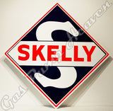 Skelly Die Cut Sign