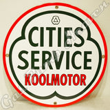 "Koolmotor Cities Service 12"" Sign"