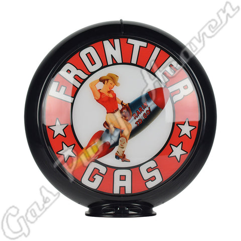 Frontier Pin-Up Gas Globe