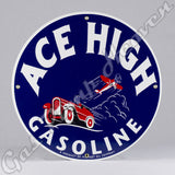 "Ace High 12"" Sign"
