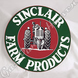 "Sinclair Farm Products 12"" Sign"