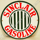 "Sinclair Gasoline 12"" Sign"