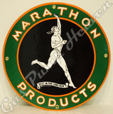 "Marathon Products 12"" Sign"