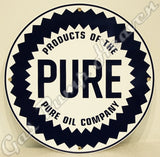 "Pure 12"" Sign"
