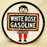 "White Rose Boy 12"" Sign"