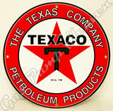 "Texaco Petroleum 12"" Sign"