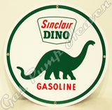 "Sinclair Dino 12"" Sign"
