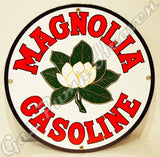 "Magnolia Gasoline 12"" Sign"