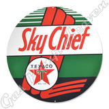 "Texaco Sky Chief 30"" Sign"