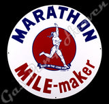 "Marathon Mile Maker 30"" Sign"