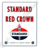 Standard Red Crown Decal