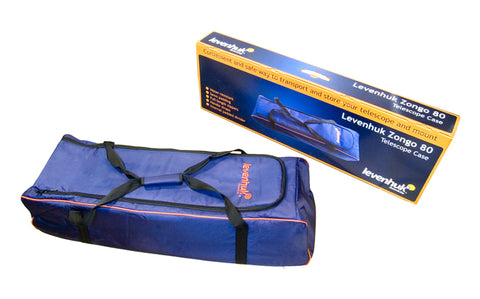 Levenhuk Zongo 80 Telescope Case; Large, Blue