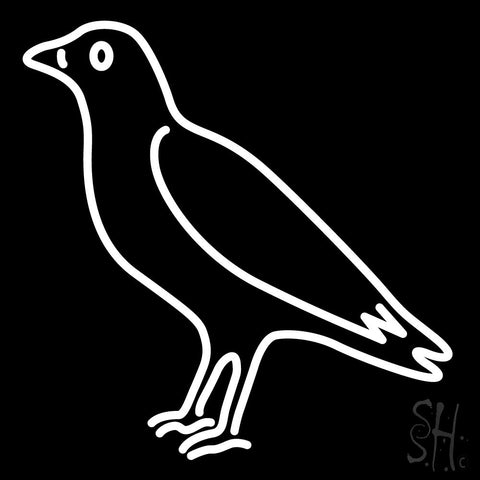 Crow Neon Sign 24