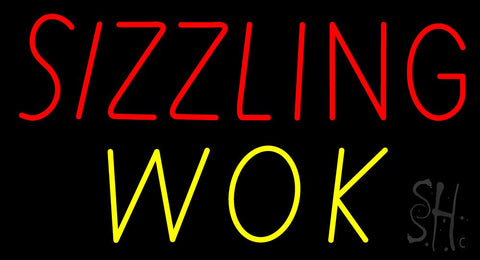 Sizzling Wok Neon Sign 20