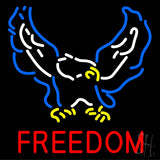 "Freedom Neon Sign 24"" Tall x 24"" Wide x 3 Deep"
