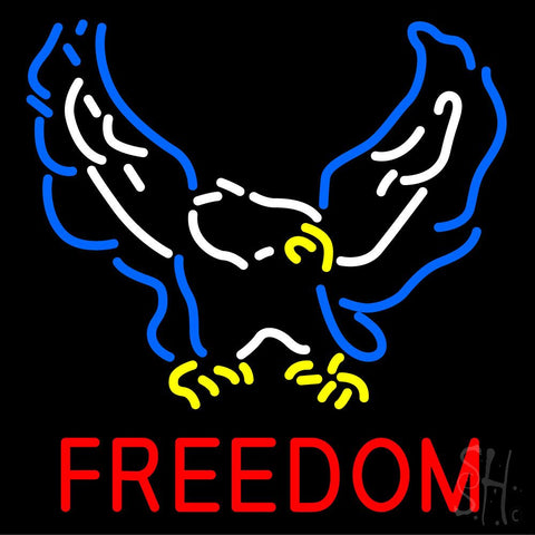 Freedom Neon Sign 24