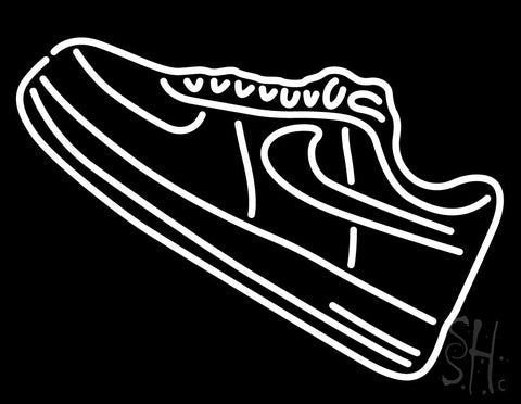Shoe Icon Neon Sign 24