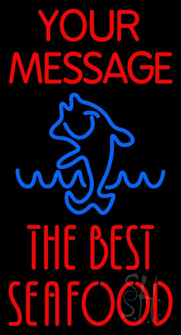 Custom The Best Seafood Neon Sign 20