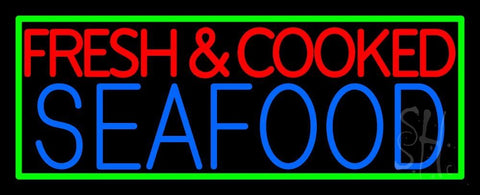 Fresh And Cooked Seafood Neon Sign 13